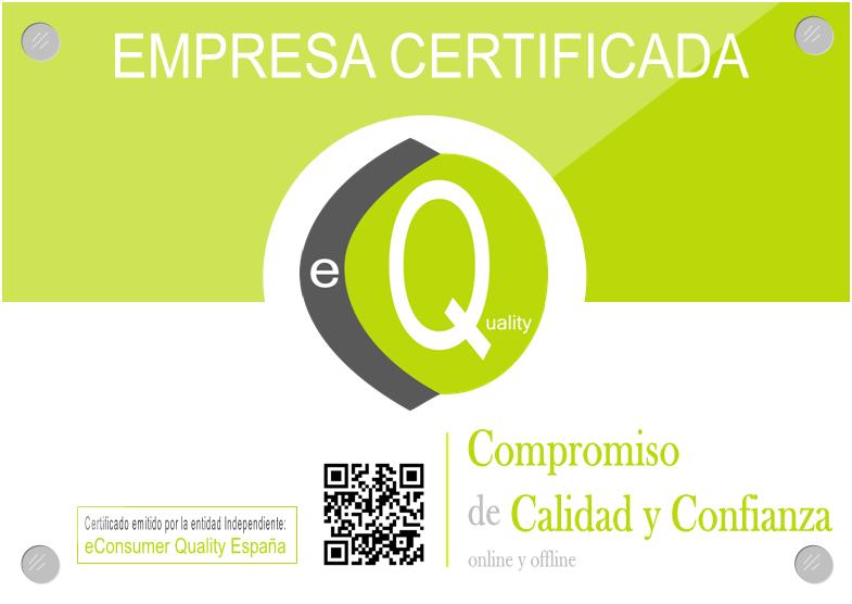 Empresa certificada eConsumer Quality